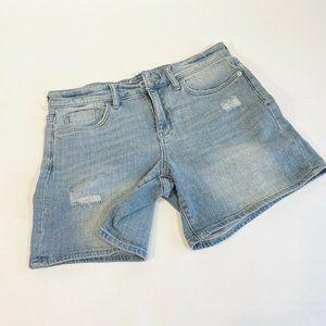Pilcro And The Letterpress Slim Boyfriend Shorts 2